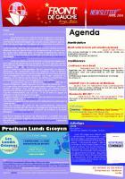 [Berlin] Newsletter du FDG - n°11 - Avril 2016