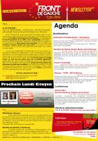 [Berlin] Newsletter du FDG - n°1 - Mars 2015