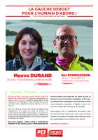 Profession de foi - 7ème circonscription hors-de-France - Maéva Durand et Éric Bourguignon