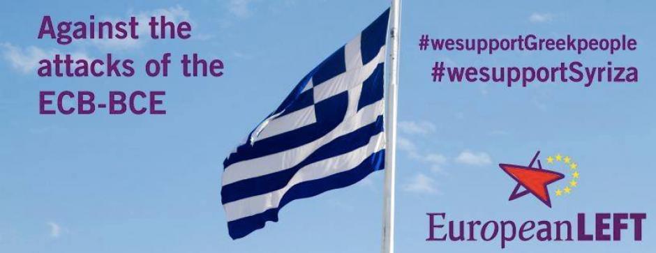 Mobilisation européenne aux côtés du peuple grec, pour sortir de l'austérité