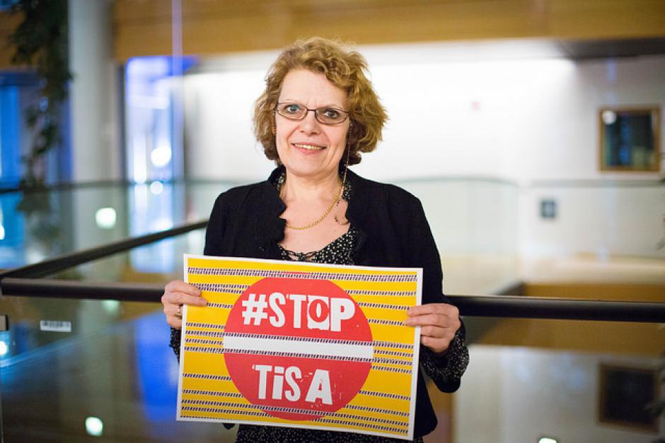 Cyber actions - #StopTiSA - #NoSexismNoRacism