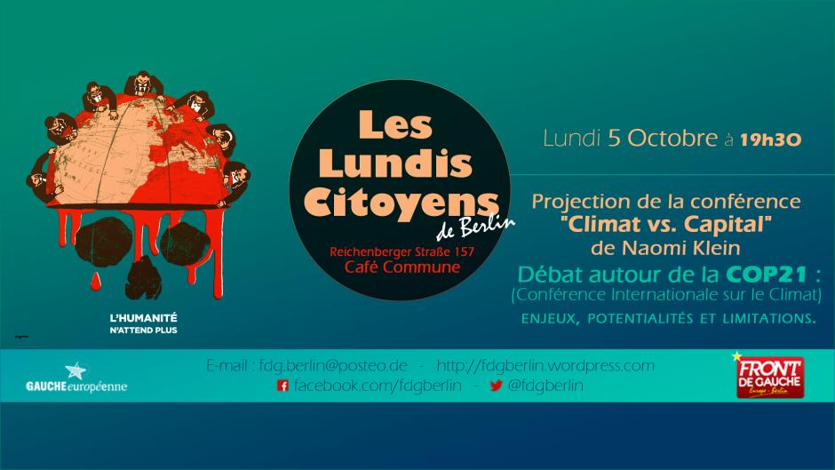 [Berlin] LC N°9 : Autour de la COP21