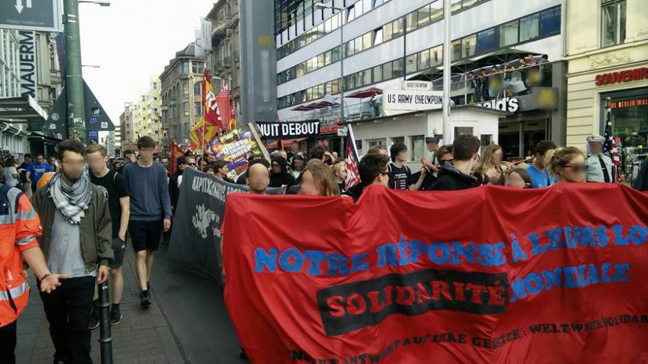 [Berlin] Manifestation de solidarité contre la Loi Travail, à Berlin !
